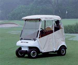 Premium Vinyl Golf Car Enclosure