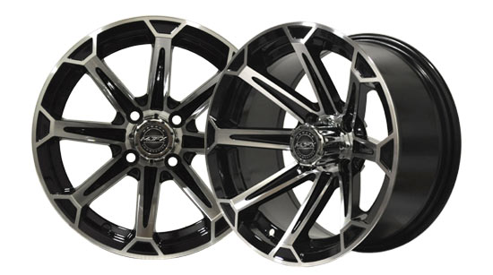 Golf Car Wheels and Tires