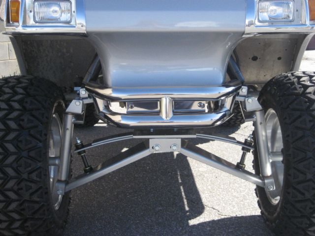 Stainless Steel Mega Front Bumper for DS Club Car