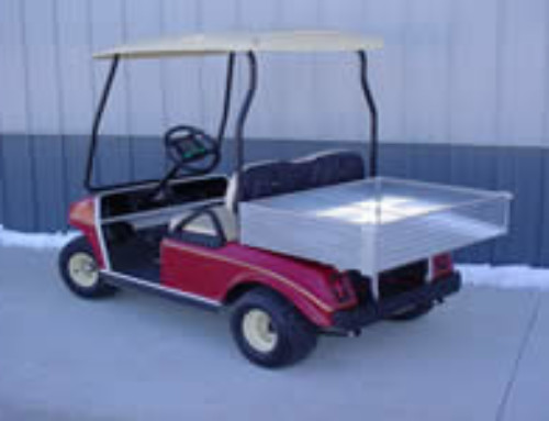 Aluminum Tilt Bed for Golf Cars