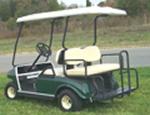 Powder Coated Regular Rear Seat Kit
