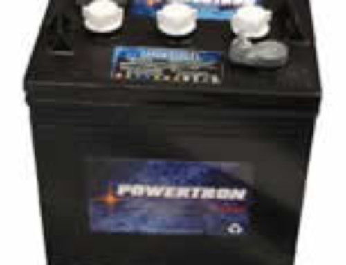 Powertron 6-Volt Golf Car Battery