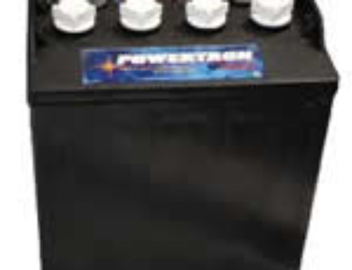 Powertron 8-Volt Golf Car Battery