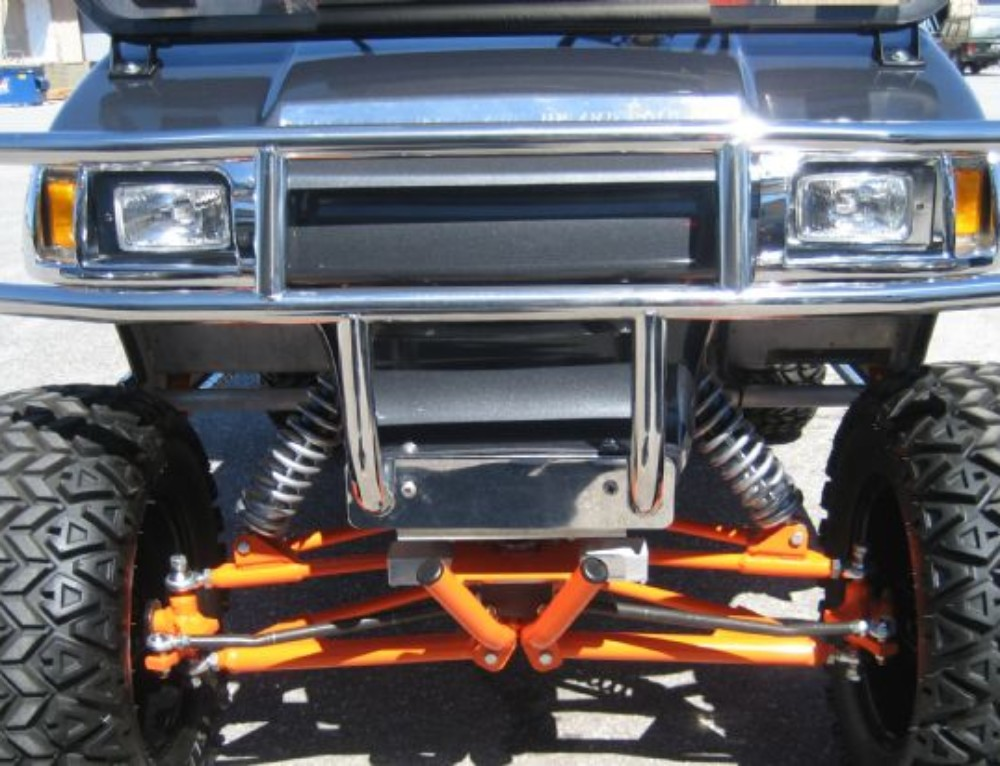 Stainless Steel Brush Guard for Club Car DS
