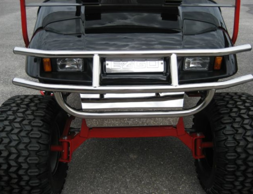 Stainless Steel Brush Guard for EZGO TXT
