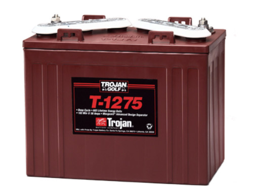 Trojan T-1275 12-Volt Golf Car Battery