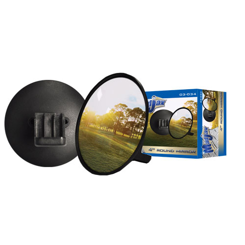 Round Convex Mirror for Golf Cars by Madjax®