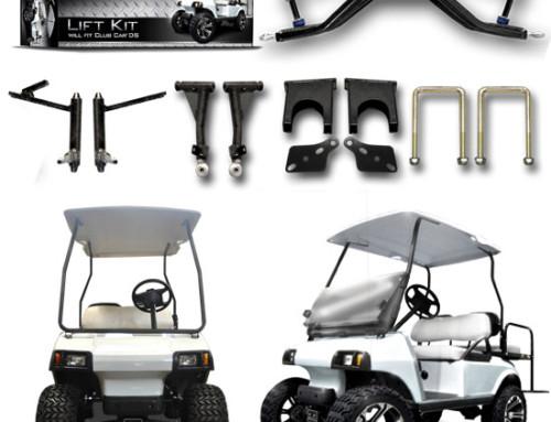 Club Car DS 3.5″ A-Arm Lift Kit (Plastic Caps)