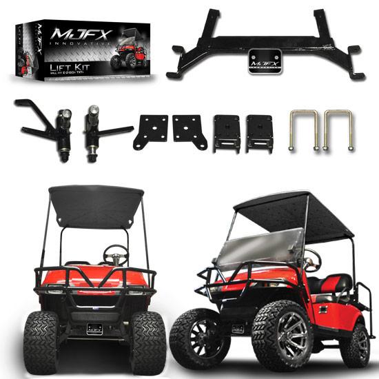 ezgo txt 5 drop axle lift kit brad 39 s golf cars inc. Black Bedroom Furniture Sets. Home Design Ideas