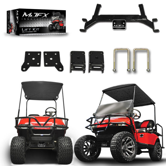 Used Tires Greensboro Nc >> EZGO TXT 4″ Axle Lift Kit | Brad's Golf Cars, Inc. - The Golf Cart Leader in the Triad of NC ...