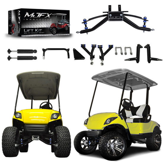 golf car lift kits brad 39 s golf cars inc the golf. Black Bedroom Furniture Sets. Home Design Ideas