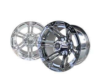 Nitro 12x7 Chrome Wheel