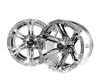 Nitro 14x7 Chrome Wheel