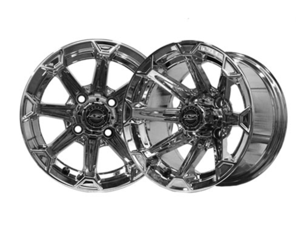 Vortex 12×7 Chrome Wheel