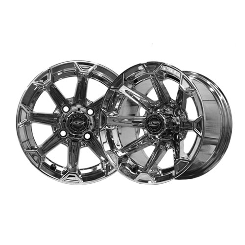 Vortex 12x7 Chrome Wheel