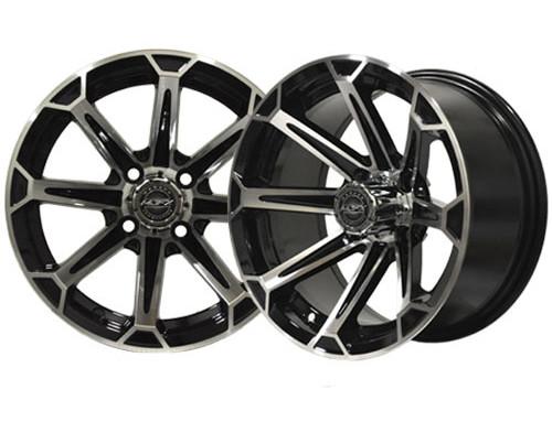 Vortex 14×7 Machined/Black Wheel