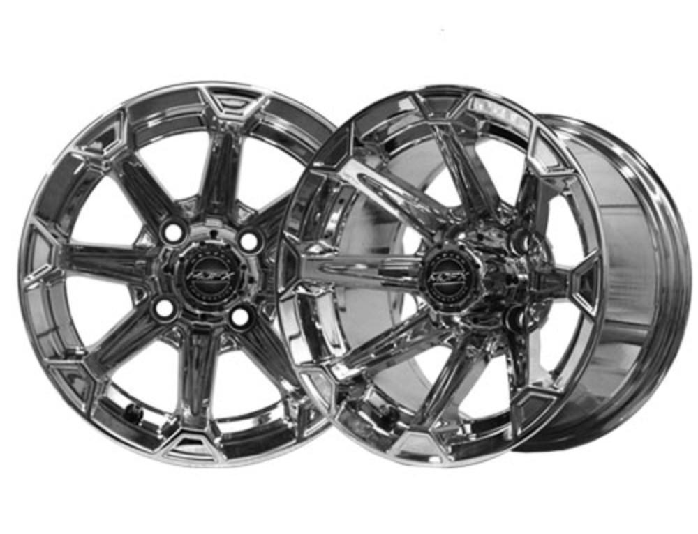 Vortex 14×7 Chrome Wheel
