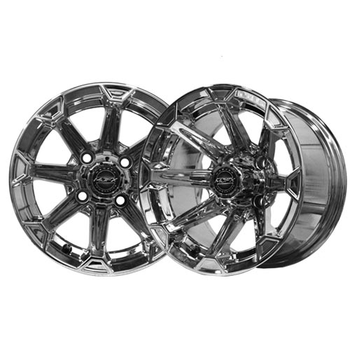 Vortex 14x7 Chrome Wheel