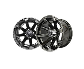 Vortex 12x7 Black Chrome Wheel