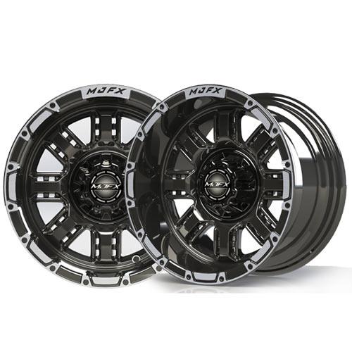 Transformer 12x7 Machined/Black Wheel