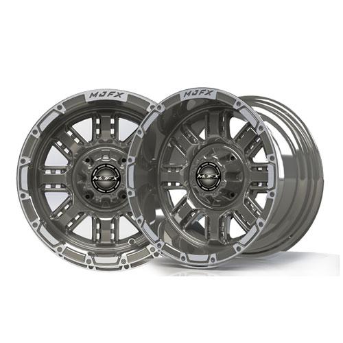 Transformer 12x7 Machined/Gunmetal Grey Wheel