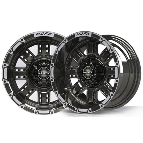 Transformer 14x7 Machined/Black Wheel