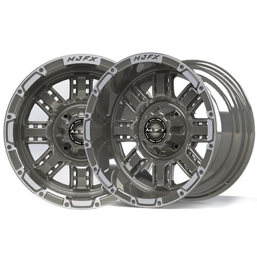 Transformer 14x7 Machined/Gunmetal Grey Wheel