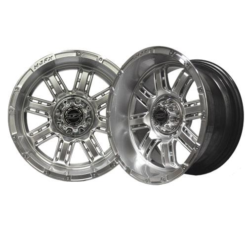 Transformer 12x7 High Gloss Silver Wheel