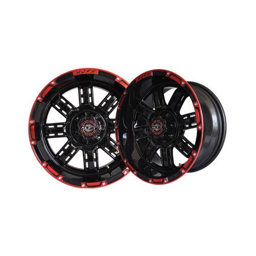 Transformer 12x7 Black/Red Wheel