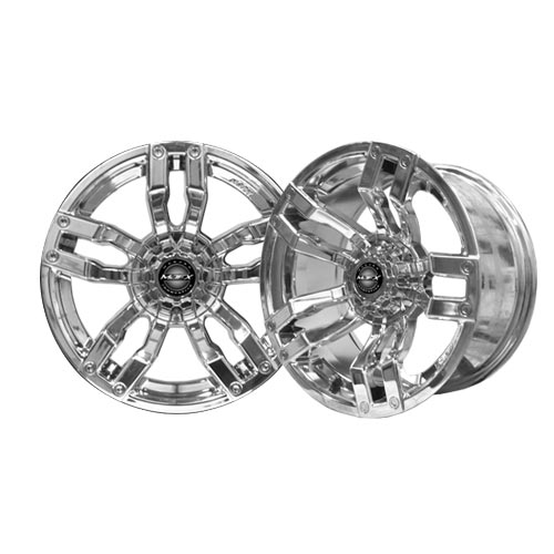 Velocity 14×7 Chrome Wheel