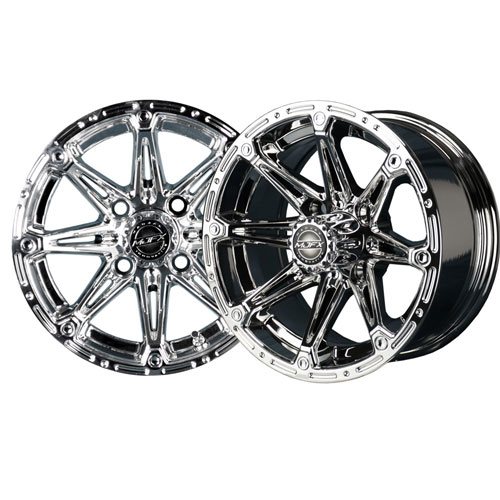 Element 12x6 Chrome Wheel
