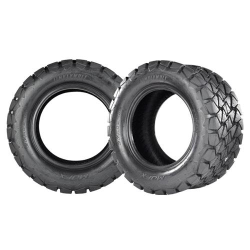 Timberwolf Series All Terrain Golf Car Tires