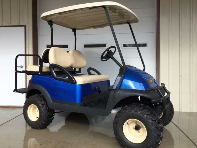 Blue Club Car Precedent