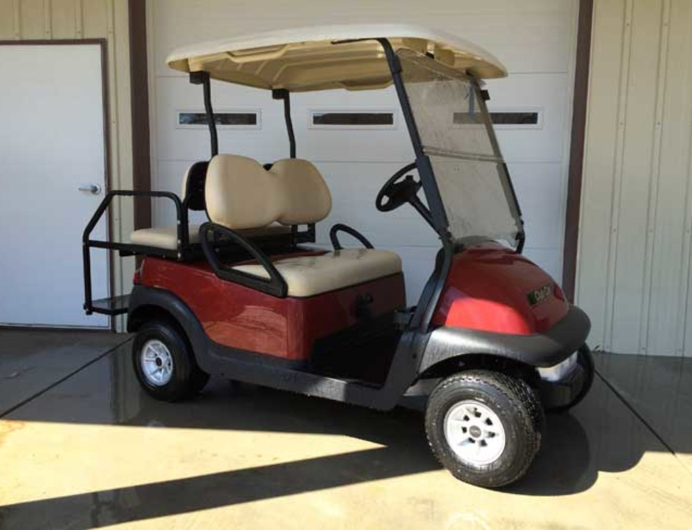 Red Club Car Precedent Original