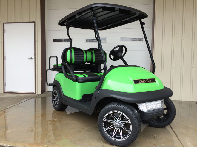 2011 Lime Green Club Car Precedent