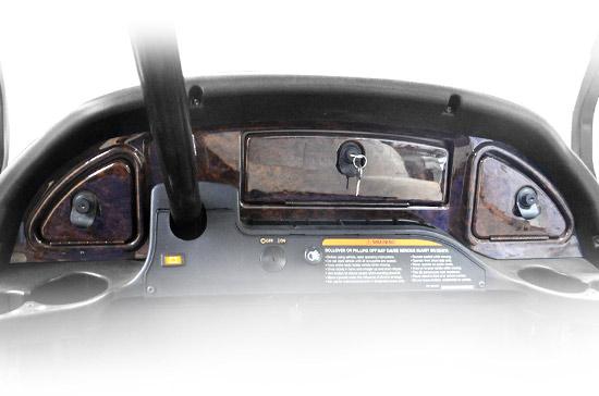 Club Car® Precedent® Wood Grain Dash