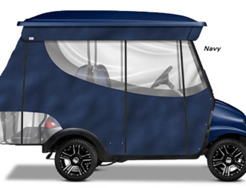 Doubletake® 4 Penger Clic Track Enclosure | Brad's Golf Cars ... on 2008 precedent club car golf cart, yamaha golf cart covers for club cart, hard covers for club car golf cart, red dot enclosures golf cart,