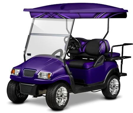 4 Passenger Long Track Golf Car Tops by Doubletake®