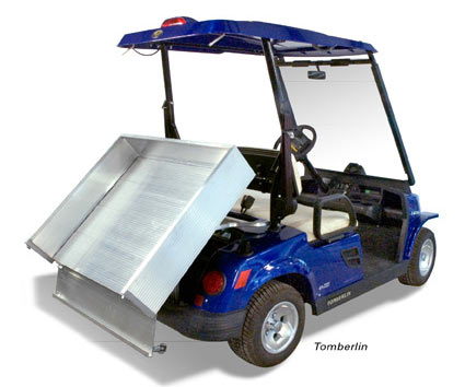 Aluminum Dumping Cargo Bed with Full Tilting Bed & Folding Tailgate