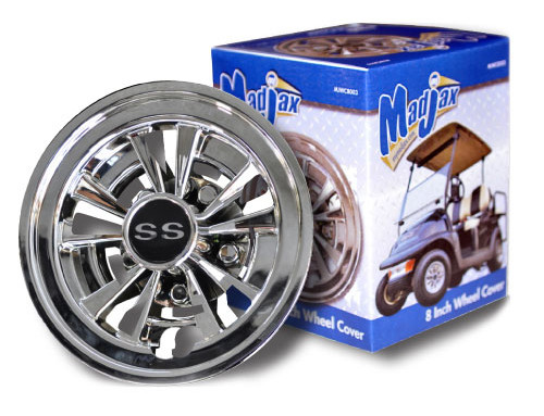 10-Spoke 8″ Wheel Cover