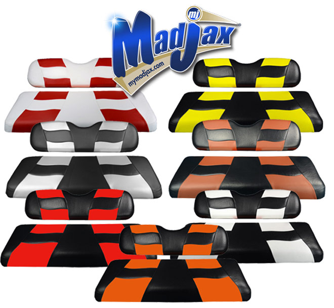 Madjax RIPTIDE Two Tone Front Seat Covers
