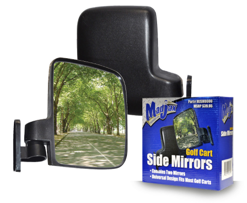 Side Mirrors for Golf Cars by Madjax®