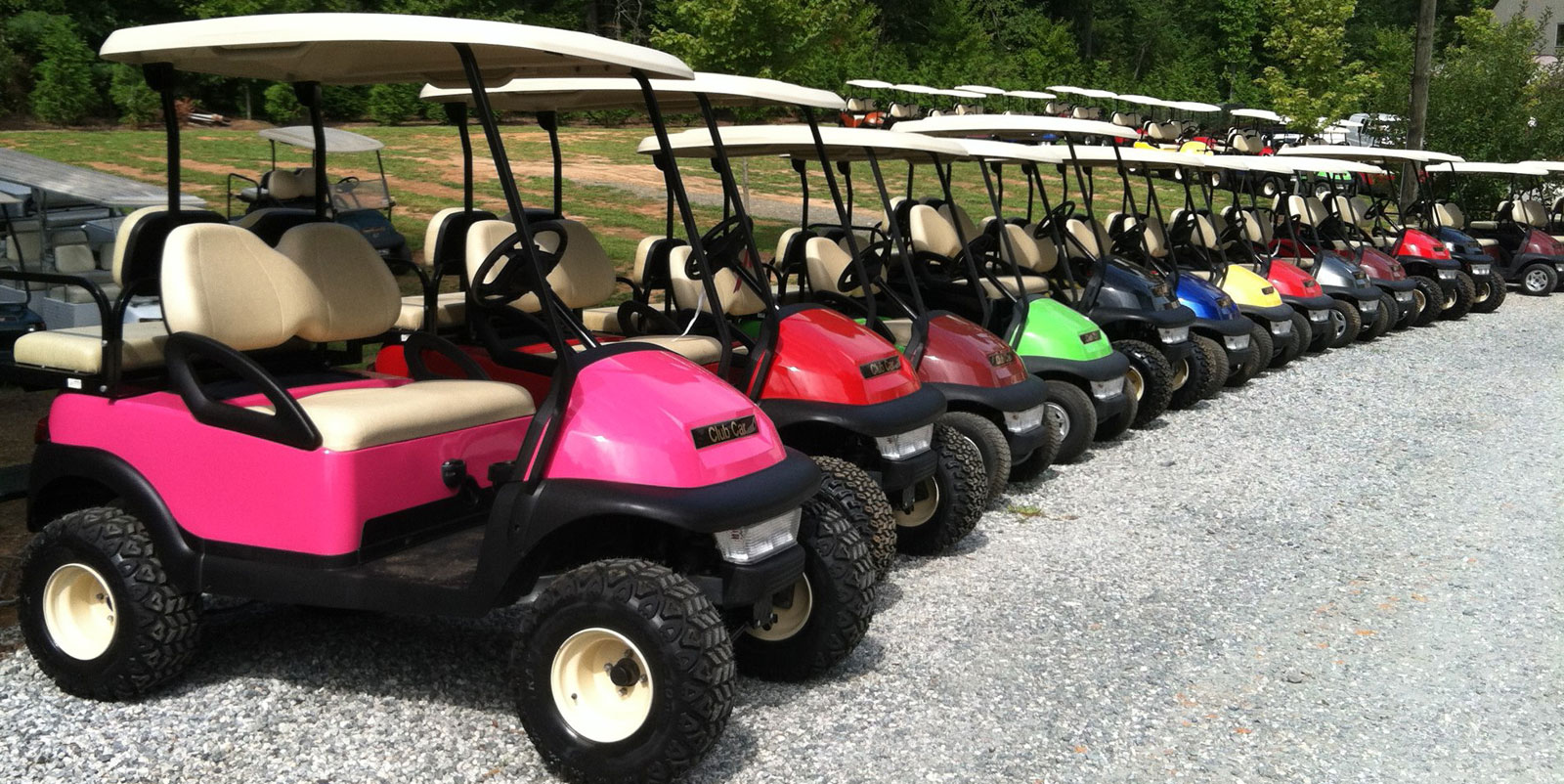 Used Tires Greensboro Nc >> Brad's Golf Cars, Inc. - The Golf Cart Leader in the Triad of NC, Greensboro, Winston-Salem ...